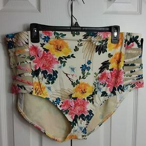 TORRID Floral Bikini Bottom